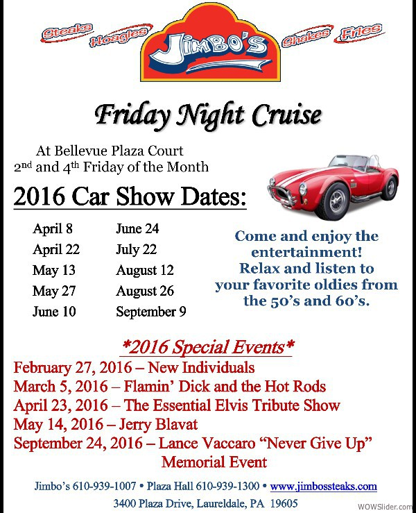 Jimbo's Cruise Nights